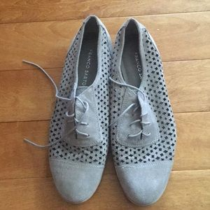 Franco Sarto cut-out oxfords